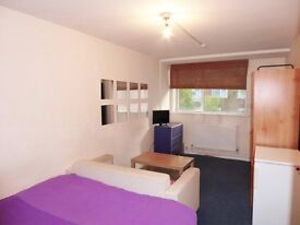 Double room in Queens Park (Zone 2). Available 14th February, £185pw inc. all bills