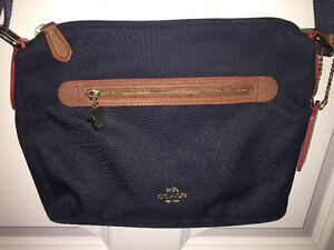 Authentic Coach canvas bag