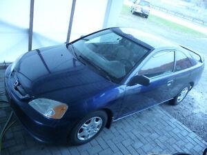 2002 Honda Civic Coupé (2 portes)