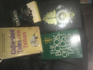 J.R.R Tolkien books, 3 are collectibles