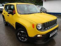 2015 JEEP RENEGADE SPORT E-TORQ 110 ESTATE PETROL