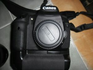 Kit complet Canon 7D, Sigma et Manfrotto