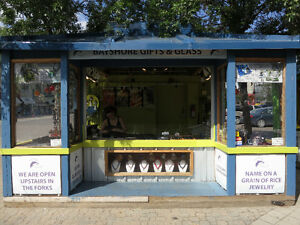 Outdoor Retail Kiosk - 14' x 10'  price reduction for quick sale