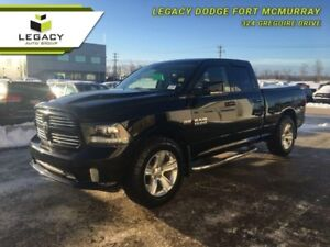 2013 RAM 1500 SPORT QUAD CAB LOW KM TONS OF FEATURES CALL NOW!!!
