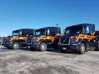 Now hiring full time company drivers