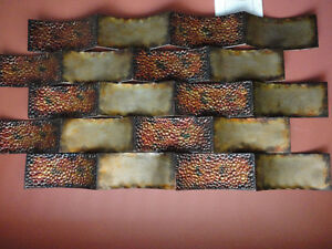 Decorative large wall art hanging accent Like new condition London Ontario image 3