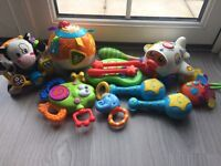 Bundle of Fisher Price and Vtech baby toys!