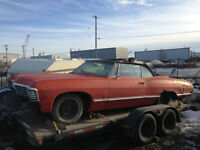 Parting Out: 1967 Chevrolet Impala Convertible