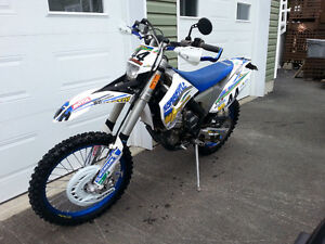 Husaberg FE570 Street legal