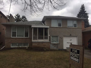 Bayview / Finch House for Rent