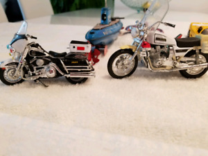 Police motorcycle toys