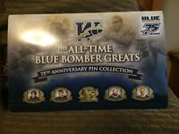 Winnipeg blue bombers pin collection