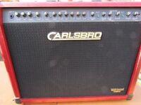 guitar amp carlsbro 80w 1 x 12 ltd ed