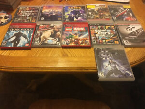 PS3 games and psp games