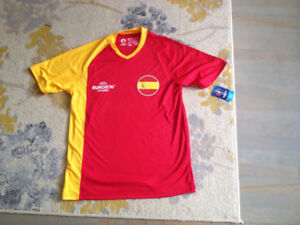 SPAIN / ESPAGNE SOCCER FOOTBALL JERSEY M EURO 2016