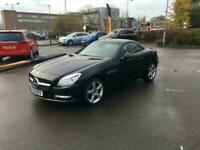 2011 MERCEDES SLK 1.8 SLK200 BLUEEFFICIENCY EDITION 125,BLACK LTH HEATED AIRSCAR