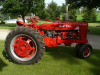 SUPER MTA FARMALL TRACTOR