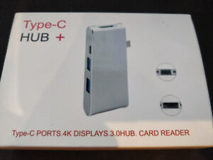 USB C Hub/Type C Adapter 3.1 with USB/HDMI/SD/Micro SD