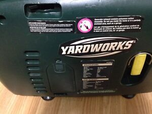 Yard works inverter generator