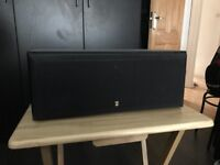 Kef centre speaker (black)