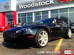 2008 Aston Martin VANTAGE BASE  LESS THAN 26,000 KMS!