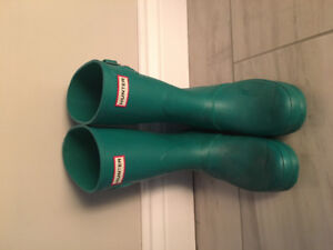 Teal Hunter Boots