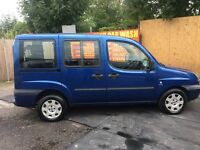 FIAT DOBLO MULTIJET FAMILY 1.3 DIESEL 55 PLATE.ONE OWNER..12 MONTHS MOT..EXELLENT CONDITION