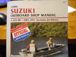 Suzuki out board Manual 2hp-225hp