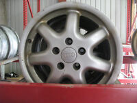 SET OF FOUR AUDI A4 RIMS @ PICNSAVE WOODSTOCK