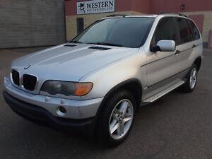 2002 BMW X5 $4999 IN GREAT SHAPE 214886KM