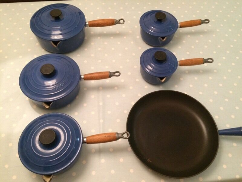 Le Creuset pan set