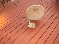 satellite dish Bell standard and or HD