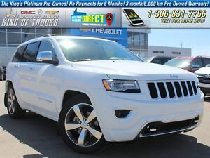 2015 Jeep Grand Cherokee Overland Leather | Sunroof | PST Paid