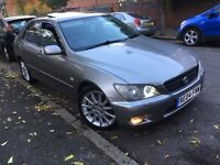 LEXUS IS 200 AUTOMATIC LIMITED EDITION FSH+HEATED LEATHER+XENON