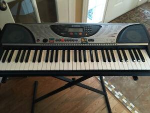 Yamaha Keyboard PSR-240 with keyboard stand $100