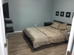 Furnished Room with walkin in 2 bedroom suite in southside dec-1 Edmonton Edmonton Area image 1
