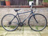 Ridgeback Unisex Retro Hybrid Road Bike 46cm Frame 21 Speed Excellent Condition