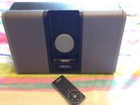 Portable iPod Dock