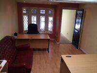 Office space storage desks