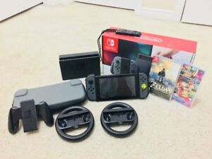 Nintendo Switch Starter Kit! 2 Games, Accessories, and Case!