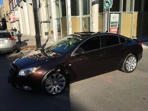 2011 Buick Regal cxl TURBO with premium + sports package low km