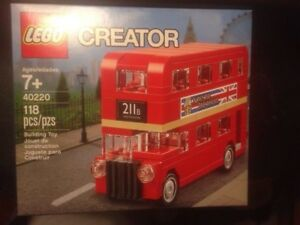 LEGO Mini London Bus 40220 new sealed Great box condition