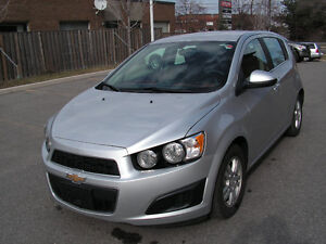 2015 Chevrolet Sonic Safety & E-Tested Hatchback