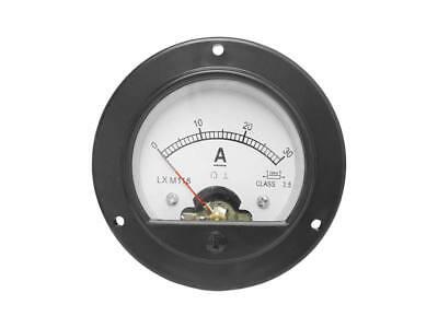 0 - 30a Dc Analog Einbau Messinstrument Rund Amperemeter Messgert Mit Shunt