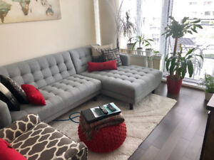 Olympic village condo for rent!