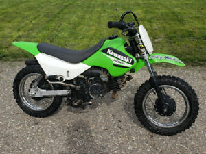 KDX50 Kawasaki kids dirt bike