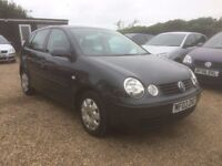 Volkswagen Polo 1.4 SE 5d 03 Hatchback Auto IDEAL FIRST CAR FULL SERVICE HISTORY CHEAP INSURANCE