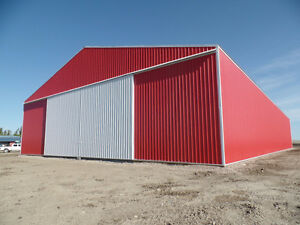 80' x 168'- 20' Farm Machinery Cold Storage Building