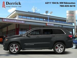2014 Jeep Grand Cherokee Used 4WD SRT8 Nav Pano Sunroof $303 B/W