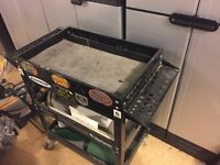 Tool cart with drawer